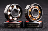 abec bearings - ABEC Red FREE SPORT Skateboard Bearings RS Drift plate Ceramic bearing Stainless Steel Sporting Goods