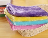 Wholesale Magic Wooden Fiber Cleaning Cloth With Shiny Threads Easy Wipe The Oil Without Detergent Soft Rag Oilproof Non Stick Oil cm