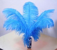 Wholesale beautiful natural ostrich feathers inch long birthday decorations for the wedding
