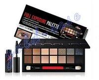 Wholesale New Makeup Smash Box Full Exposure Palette color Eye Shadow Mascara gift