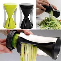 Wholesale Funnel Model Spiral Slicer Vegetable Shred Device Cutter Carrot Piece Grater New