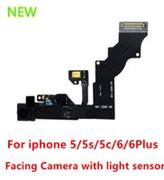 Wholesale High Quality Front Facing Camera Proximity Light Sensor Flex Ribbon Cable iPhone s c Plus quot quot S plus