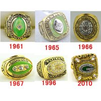 super bowl rings - High quality Bay Packers Super Bowl world series championship rings size together