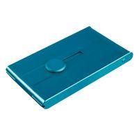 automatic business card holder - ALUMINUM AUTOMATIC SLIDE BUSINESS ID CARD HOLDER