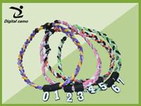 all'ingrosso pendant-necklaces-Commercio all'ingrosso nuovo silicone di 300pcs dhl in silicone digitale ciondolo numero 0-9 per baseball softball titanio collana pendente