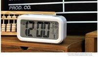 Wholesale Digital Electronic Alarm Clock LED Backlight Calendar Snooze Big Screen Light Clock