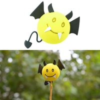 Wholesale Car Styling Universal Vampire Cartoon Antenna Topper Ball Aerial Decoration Vehicle Roof Exterior Accessories High Quality