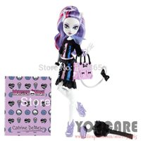 fashion dolls - Monster High New Scaremester Catrine DeMew Fashion Doll Genuine Original Monster High Doll toys monster hight