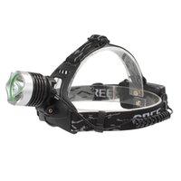 Wholesale XM L T6 LED LM Long Shot Headlight Modes Adjustable Headlamp for Hunting Night Riding LHL_511
