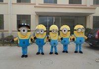 Wholesale styles Despicable me minion mascot costume for adults despicable me mascot costume