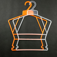 best plastic hangers - Best Selling Plastic Hangers For Children Clothes Pegs Swimwear Trousers Pants Laundry Drying Rack Baby Hangers JE0152 Kevinstyle