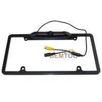 american car park - New Product Waterproof American License plate frame car parking camera car rear view camera