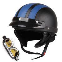Wholesale Motorcycle Motorbike Open Face Helmet Visor Goggles Scarf Motocycle Helmets