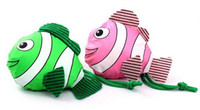 Wholesale New Arrive Fish Shopping Bag Foldable Bag Handle Bag in Many Colors Available Folding Bags