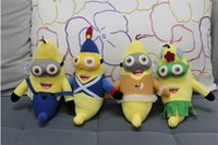 Wholesale Despicable Me Precious Milk Dad Little Yellow People banana D eye cm Plush Toy Doll