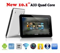 Wholesale DHL inch quot Android Tablet AllWinner A33 Quad core Tablet G RAM GB Dual Camera Hz Wifi Bluetooth Tablet