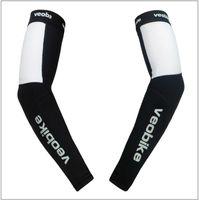 Wholesale Veobike Cycling Arm Warmer Arm Cover With Reflective Logo Sun Protection MTB Road Bike Arm Warmers
