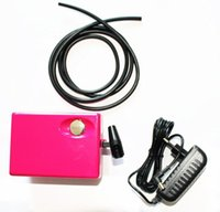 airbrush nails salon - ABEST Salon Airbrush makeup Nail art compressor with hose air pressure adjustable