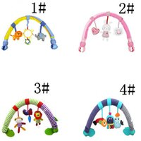 baby travel seat for planes - New Baby Crib Toy Stroller Rattles Seat Take Along Travel Arch Development Baby Toys for Baby month for Pram
