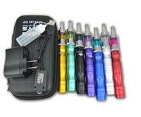 Cheap X6 KTS Electronic Cigarette Kits V2 Protank 2 Atomizer 1300mah X6 Battery e cigarette Kit in Zipper Carrying Case High Quality Various Color