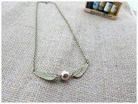 Cheap Golden Snitch necklace Best Harry Potter necklace