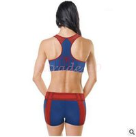 Wholesale 50set LJJC3348 Top Quality Vintage Cycling Jersey Clothes Suits Bike Women Cycling Spiderman Jersey Shorts Suit Set Outdoor Sports Team Red