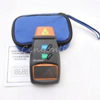 Wholesale Fashion Handheld Digital LCD Non Contat Laser Photo Tachometer RPM Engine Motor Speed Gauge Test Tach Tool Meter Retail Package