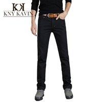 Wholesale 2015 New arrival casual denim men s jeans calca jeans masculina straight mens black jeans famous brand cotton men s jeans pants