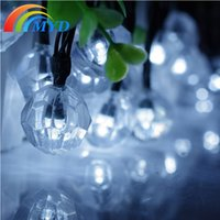 battery candle lanterns - Colorful Solar string lights M LED Christmas Garden Decoration Fairy Lantern with rechargeable battery