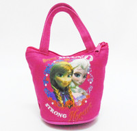 best handbag wholesale - 2015 Children Frozen Purse Elsa Printed Purse Popular Kids Zero Wallet Best Christmas Gift For Baby handbag Children Purse LQB8