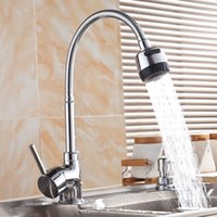 Wholesale Newest Kitchen pull swivel Mixer Tap Faucet Brass Faucets All Around Rotate Swivel Function Water Outlet