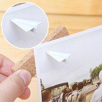 cork board - Creative Plane Shape Thumb Tack Cork message board special nail drawing pin