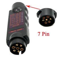 Wholesale Vehicle Car Diagnostic Tools Pin Trailer Towing Light Cable Circuit Plug Socket Tester Plug Socket tester