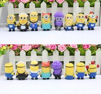 Wholesale set Despicable Me Minions Figures Toys Model Movie Pvc Action Figure Children toys dolls kids toys gifts sets