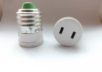 Wholesale screw E27 to plug and socket US regulations plugs into a two phase conversion flat plug socket hostel Travel v