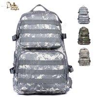 acu sale - Hot Sale Large Outdoor Military Tactical ACU Army Backpack Fly Fishing Hiking Backpack Waterproof School Bag