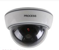 al por mayor nuevas cámaras de vigilancia-2015 Nueva simuladas de la vigilancia de la falsificación de la cámara de seguridad CCTV Domo OutdoorFlashing luz roja LED