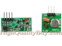 Wholesale 1pcs Mhz RF Wireless Transmitter Receiver link kit Module used for Remote Control