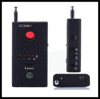 Wholesale Newest CC308 Full Frequency Multi Functional Detector Wireless Spy Camera Detector Finder anti spy device