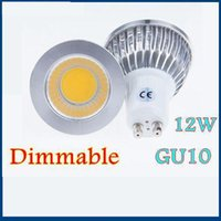 Wholesale Dimmable LED Spot Light Lamp COB E27 MR16 GU10 W AC85 V Bulb More than Degrees Discount Led Light Bulbs Long Lifespan LED Spotlight