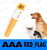Wholesale Pet Nail Grooming Care Grinder Trimmer Clipper File Tools Electric Grooming for Dog Cats Dog Finger Sets LLFA124F