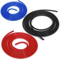 Wholesale 4 Colors m Silicone Silicon Vacuum Hose Turbo Dump Rubber Air Tube Hosing Pipe order lt no track
