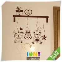 abstract landscape photography - 2014TONYwedding photography props Special Offer Cartoon Creative Bear Cute Wall Sticker XYY017