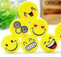 Wholesale 2015 new Lovely smiling face eraser emoji eraser