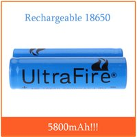 Wholesale Ultrafire v mah Rechargeable Battery for LED Flashlight Torch Light