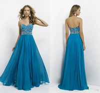 best sewing patterns - New Arrival Best Selling Long Prom Dresses Sweetheart Sewing Beaded Patterns Sweet Navy Blue Evening Dresses