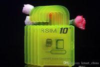 apple mobile software - unlock software unlock gsm phone R SIM RSIM rsim10 puls unlock card for iphone s plus s IOS7 X X AT T T mobile Sprint WCDMA