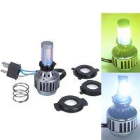 motorcycle headlamp - Super Bright White H4 Motorcycle Headlight Headlamp LED Bulb K LM High Low Beam Conversion Kit DC V V headlamp