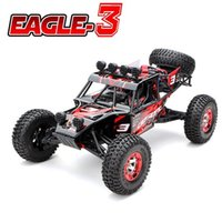 baja rtr - New Eagle Scale WD Brushed Rc Car Electric Rock Racer Desert Off Road Truck baja with GHz Radio System RTR