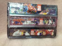 Wholesale 72 Pieces Spiderman Ruler High Quality Cartoon Print Student Ruler Straight School Rulers